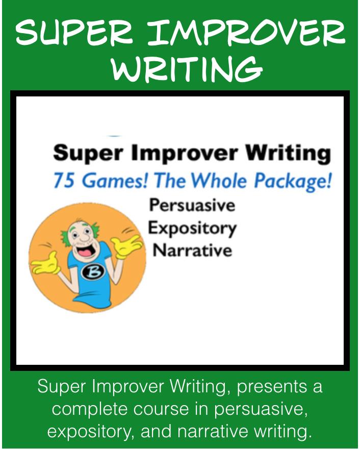 Super Improver Writing